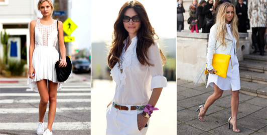 Monocromático: tendência total branco!