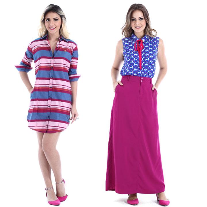 f21e7f0f9 Bazar La Boutique   Muito estilo e jeans para elas com a Handara ...