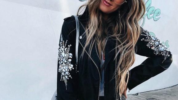 Já pensou em ousar com jaqueta de couro?