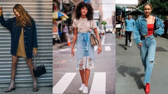 Jeans, uma peça versátil e atemporal.