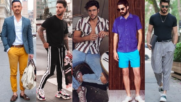 Looks de verão, inspiração para os homens!