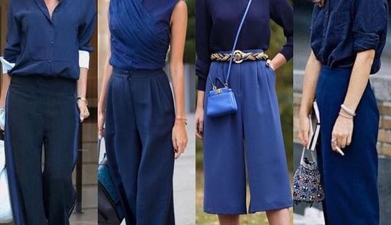 Looks com Azul Clássico, cor de 2020 pela Pantone