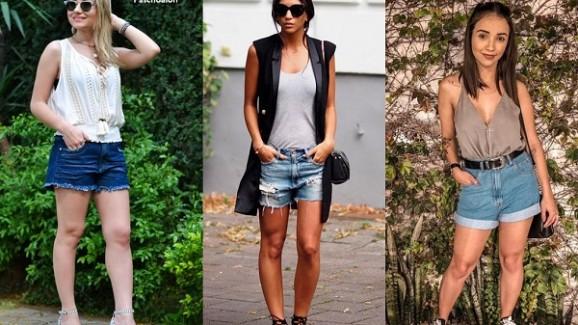5 Combinações com Short Jeans
